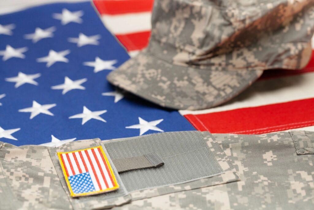 US soldier uniform